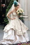 Carrie's wedding dress