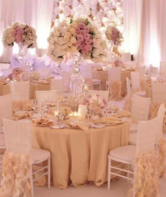 Gold Wedding Decorations: We Do Dream Weddings