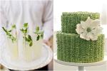 Wedding beverage and cake