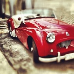 50's wedding car