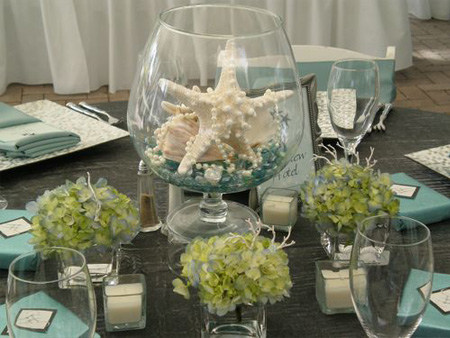 Centerpiece Seashells