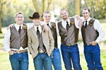 Groom and Best man / Bridesmaids