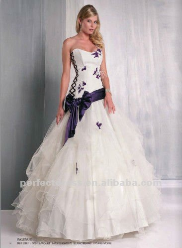 Dark Purple Wedding Dress 8 Latest New Design And White 57 39b4c943889a3f0c