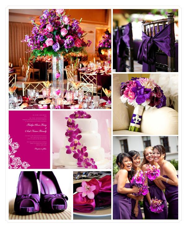Purple wedding theme – We Do Dream Weddings!
