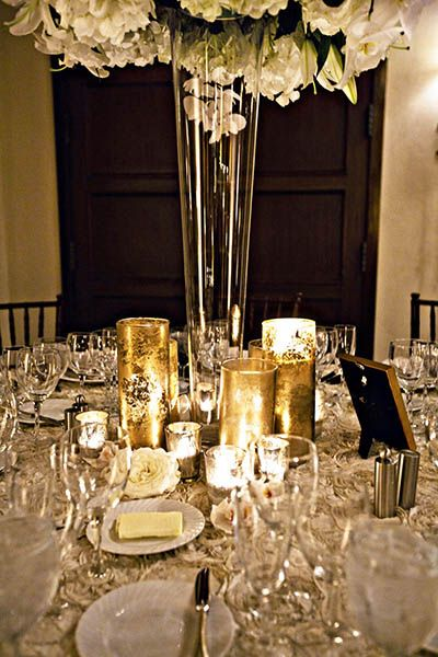 Wedding theme gold white we do dream weddings