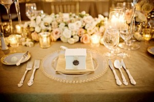 Table setting and decorations