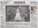 Uusimaa newspaper page 1