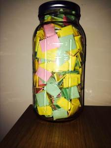 love notes jar